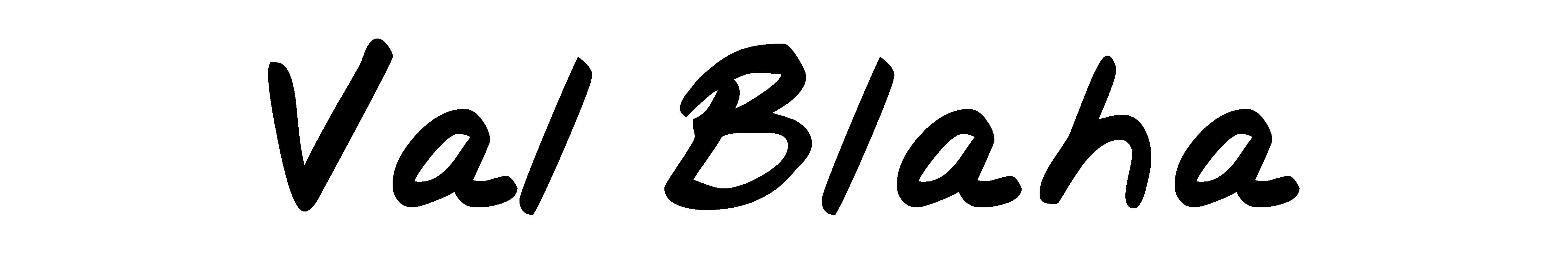 Val Blaha